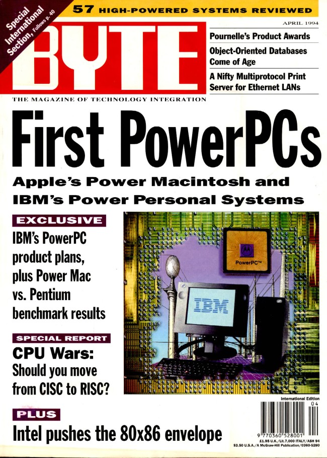 Scan of Document: Byte April 1994