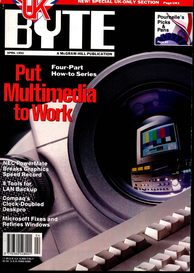 Scan of Document: Byte April 1992