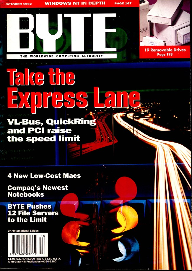 Scan of Document: Byte October 1992