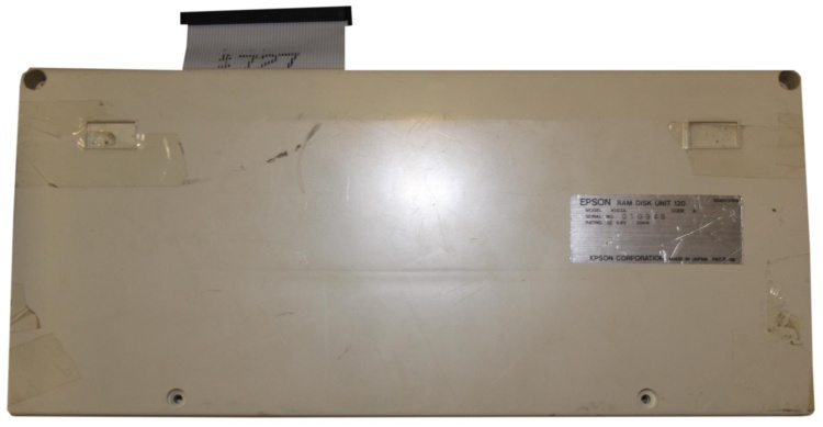 Scan of Document: Epson RAM Disk Unit 120