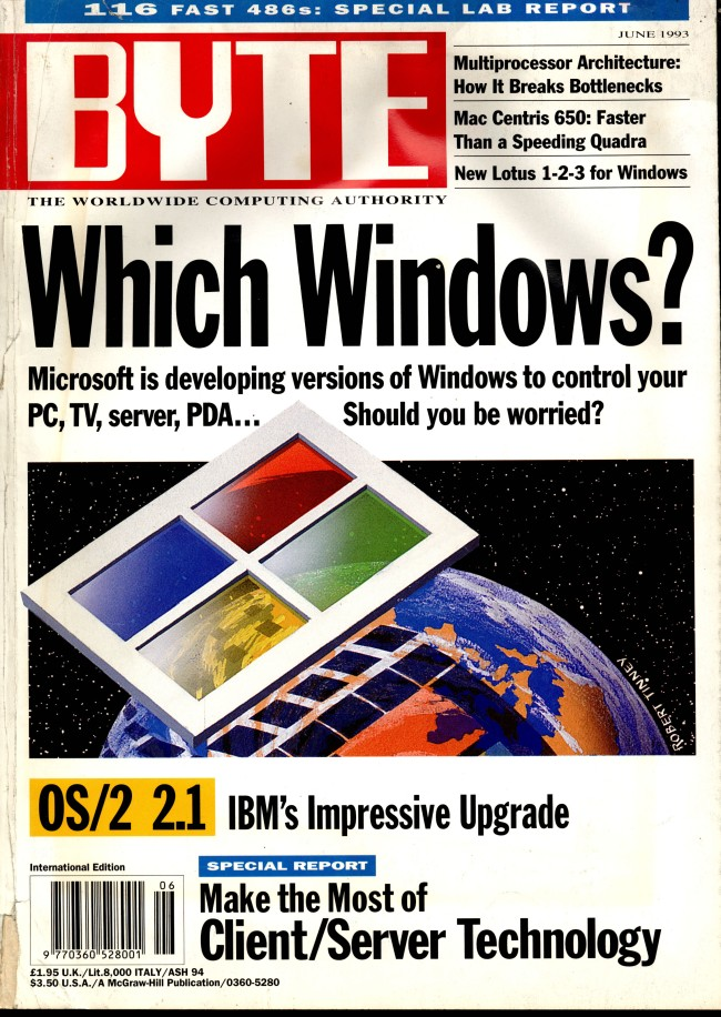 Scan of Document: Byte June 1993