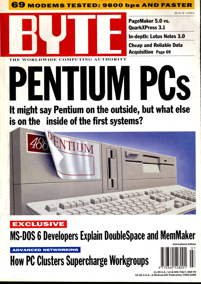 Scan of Document: Byte July 1993
