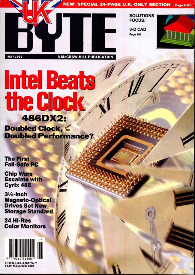 Scan of Document: Byte May 1992