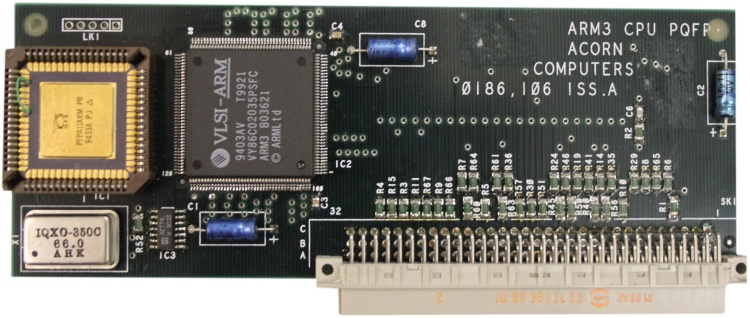 Scan of Document: Acorn A500 ARM3 CPU with FPA11