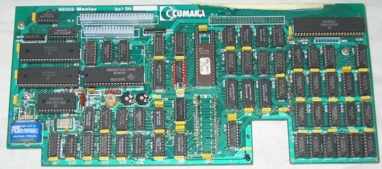 Scan of Document: Cumana 68008 Issue 1 Second Processor