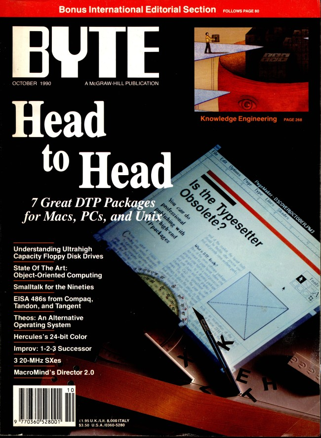 Scan of Document: Byte October 1990
