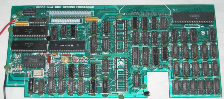 Scan of Document: Cumana 68008 Issue A Pre-Production Second Processor