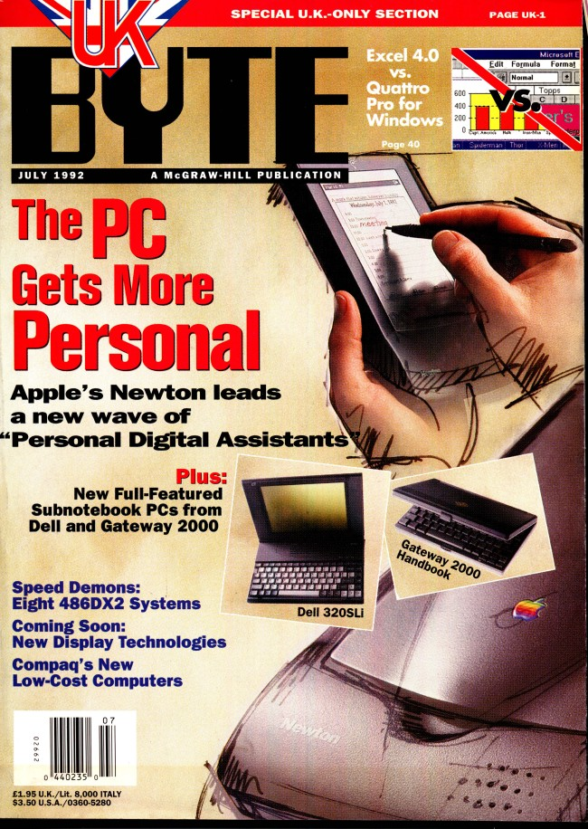 Scan of Document: Byte July 1992