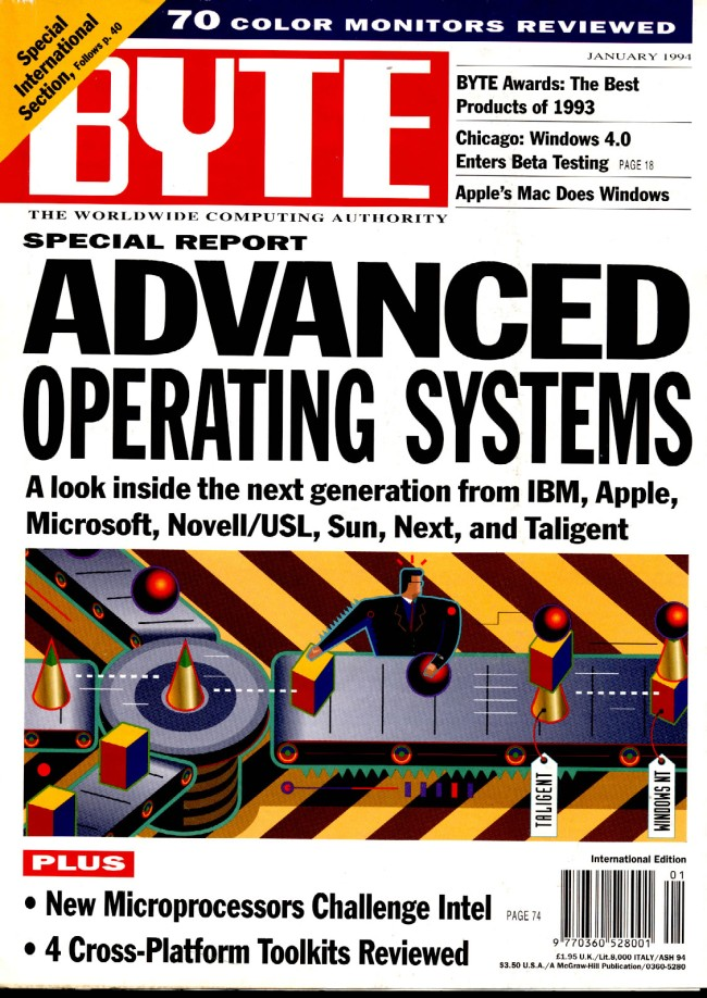 Scan of Document: Byte January 1994