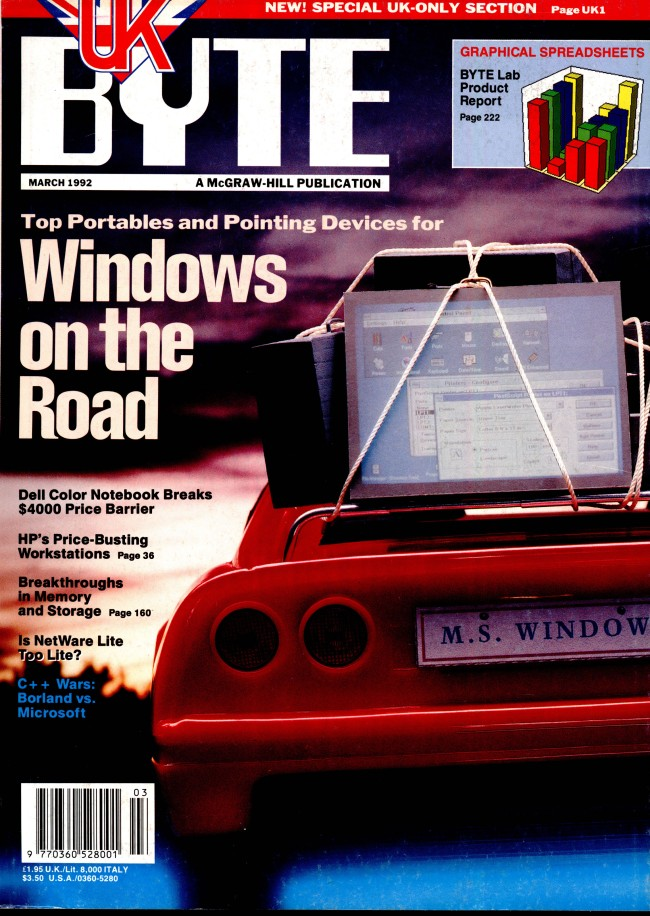 Scan of Document: Byte March 1992