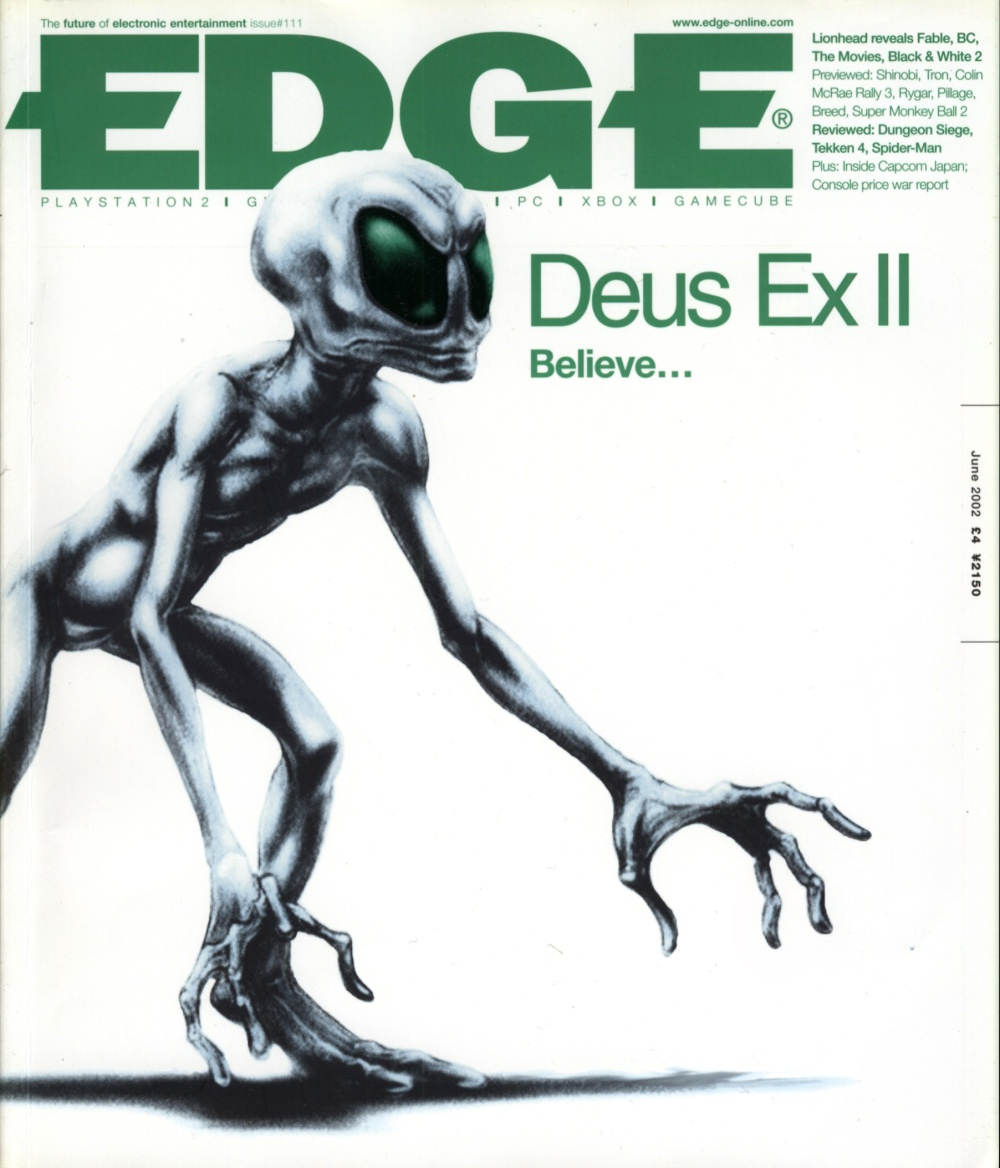 Scan of Document: Edge - Issue 111 - June 2002