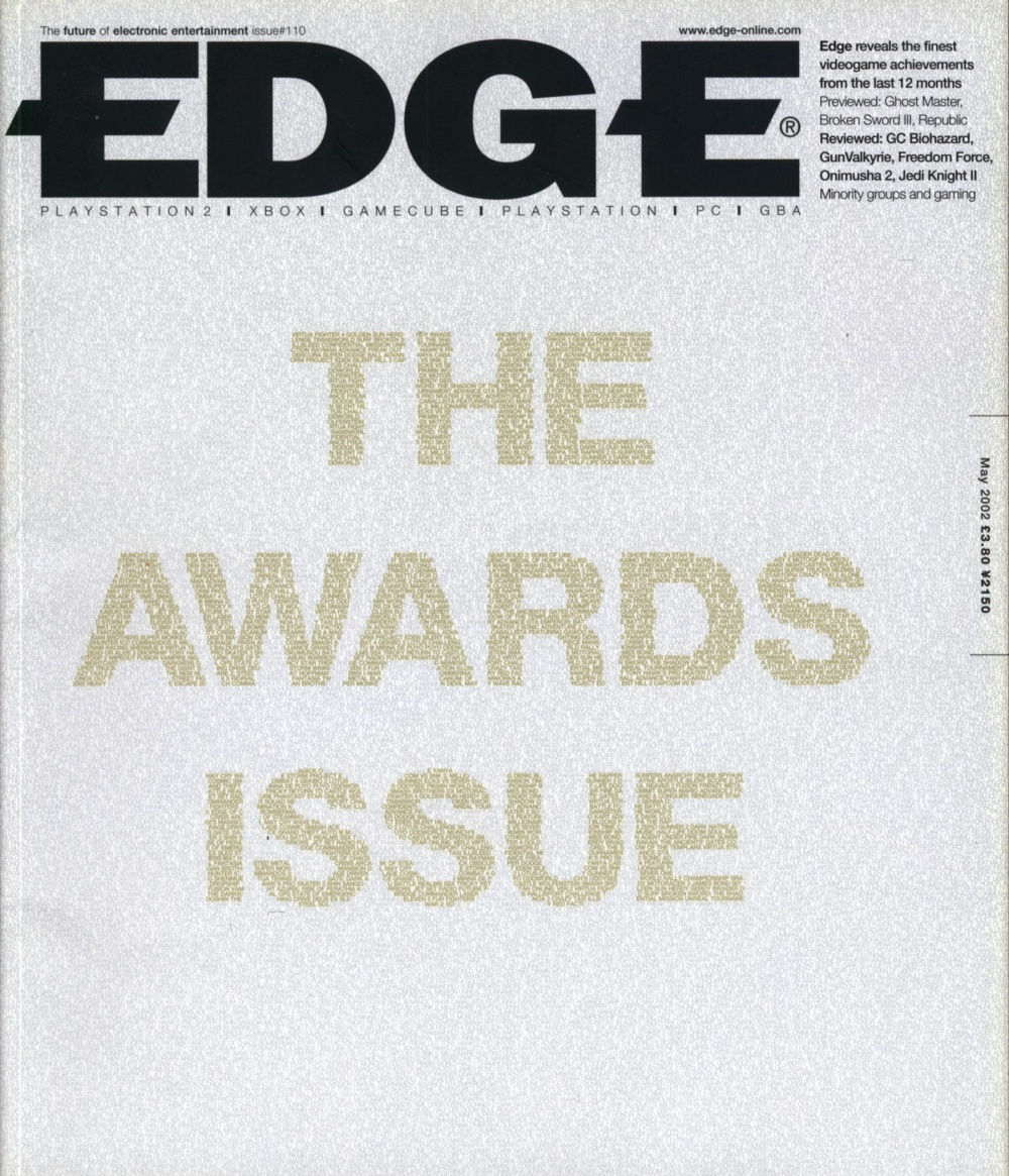 Scan of Document: Edge - Issue 110 - May 2002