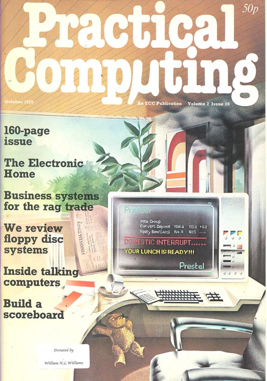 Scan of Document: Practical Computing - October 1979