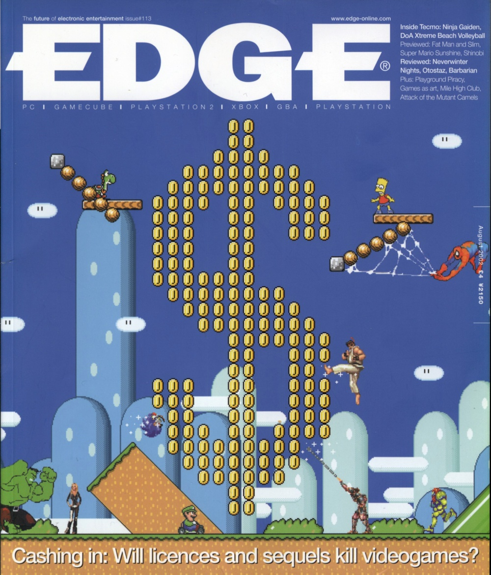 Scan of Document: Edge - Issue 113 - August 2002