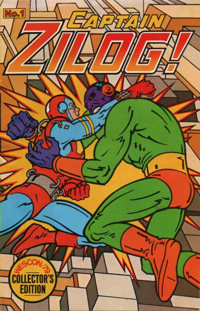 Scan of Document: Captain Zilog Issue No. 1