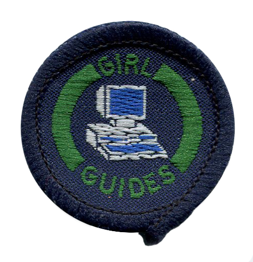 Scan of Document: Girl Guide Computer Interest Badge 1980-2002