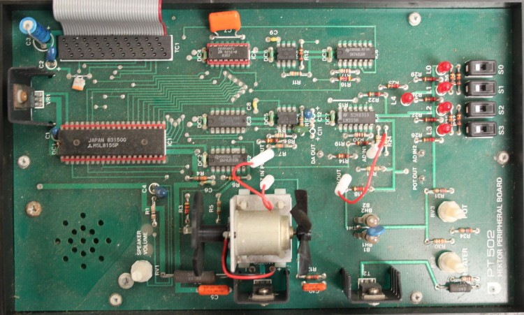 Scan of Document: Open University Hektor PT502 Peripheral Board
