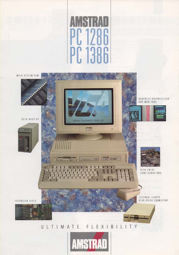 Scan of Document: Amstrad PC 1286 & PC 1386