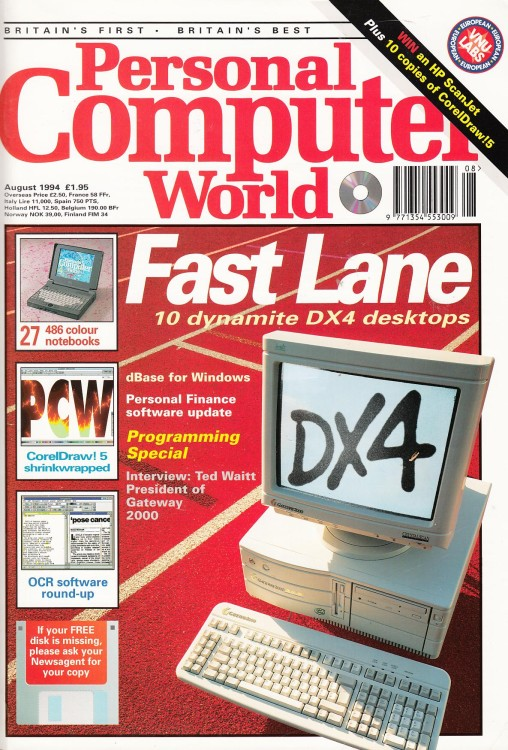 Scan of Document: Personal Computer World - August 1994