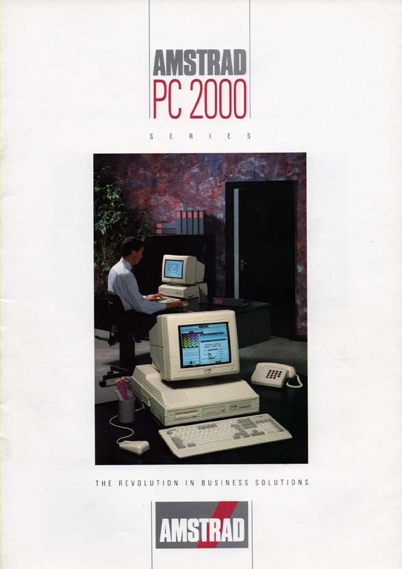 Scan of Document: Amstrad PC 2000