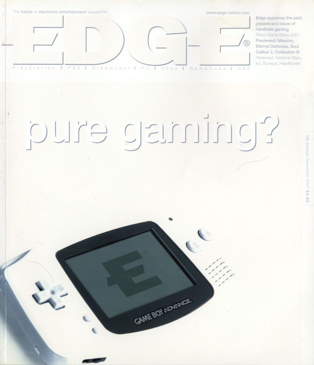 Scan of Document: Edge - Issue 104 - December 2001