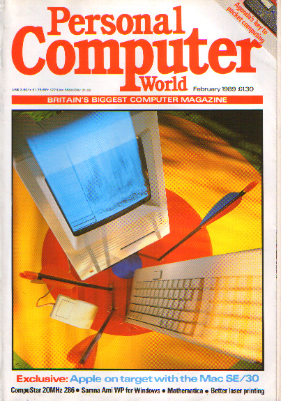 Scan of Document: Personal Computer World - February 1989