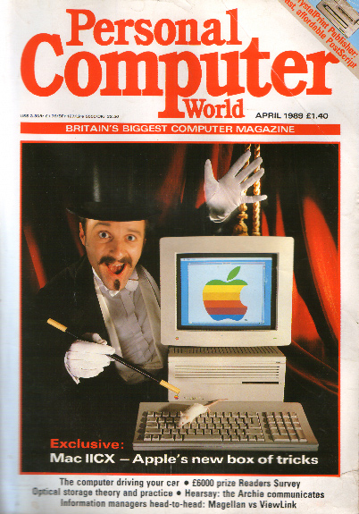 Scan of Document: Personal Computer World - April 1989