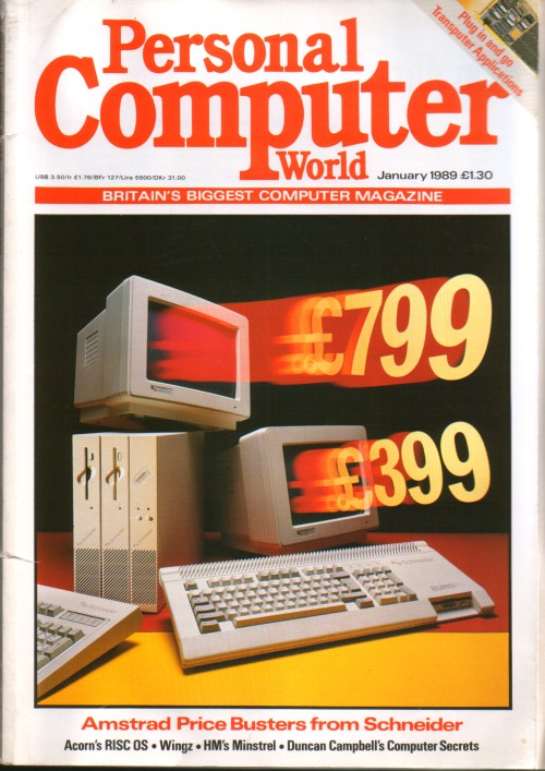 Scan of Document: Personal Computer World - January 1989