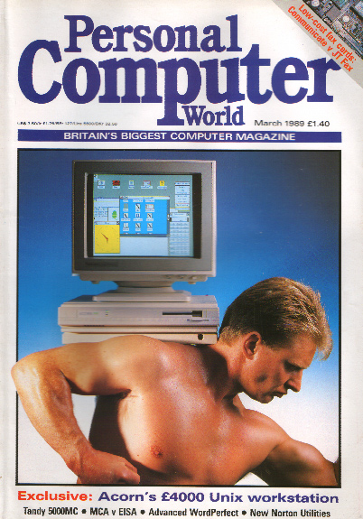 Scan of Document: Personal Computer World - March 1989