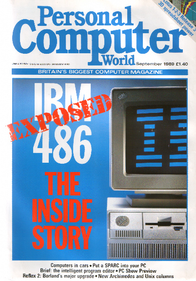 Scan of Document: Personal Computer World - September 1989