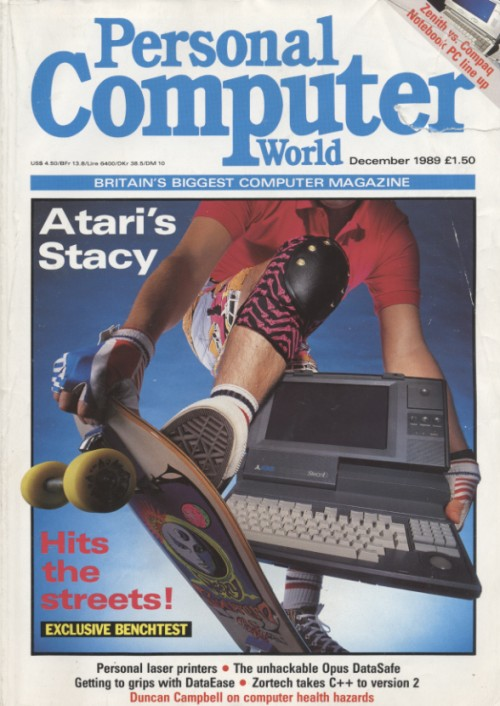 Scan of Document: Personal Computer World - December 1989