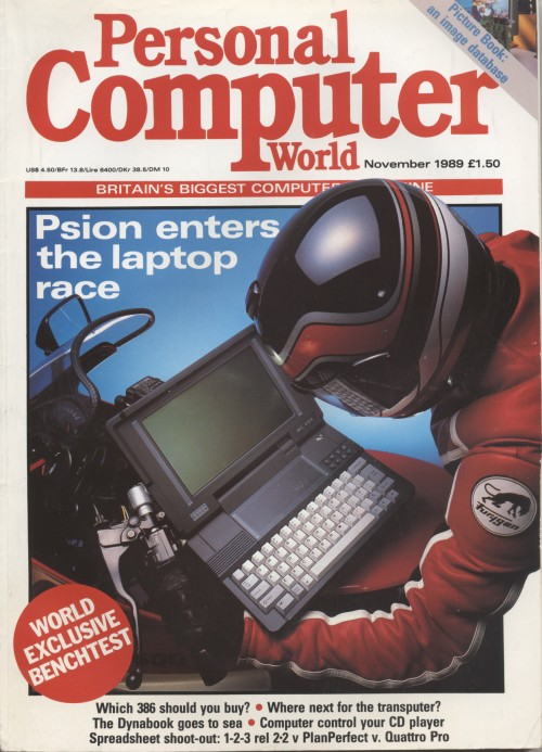 Scan of Document: Personal Computer World - November 1989