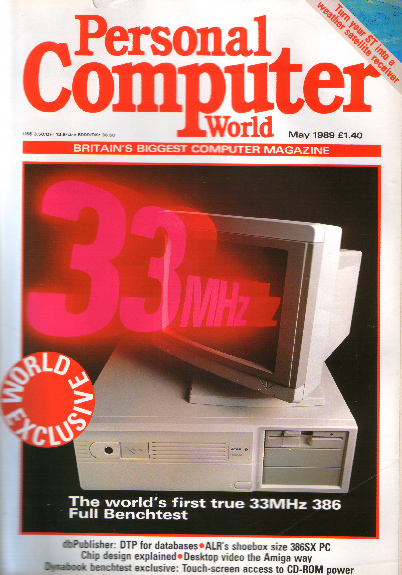 Scan of Document: Personal Computer World - May 1989