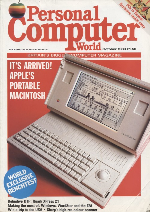 Scan of Document: Personal Computer World - October 1989