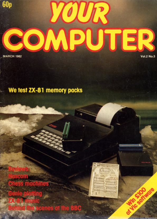 Scan of Document: Your Computer - March 1982