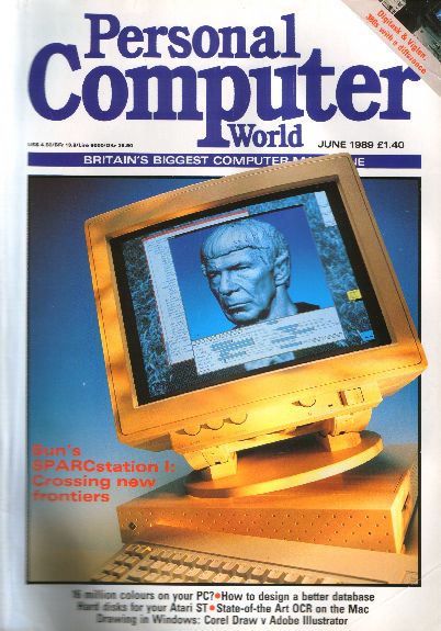 Scan of Document: Personal Computer World - June 1989