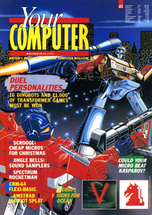 Scan of Document: Your Computer - December 1985