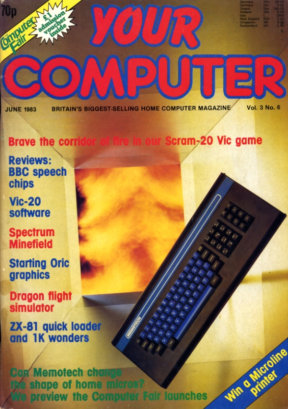 Scan of Document: Your Computer - June 1983