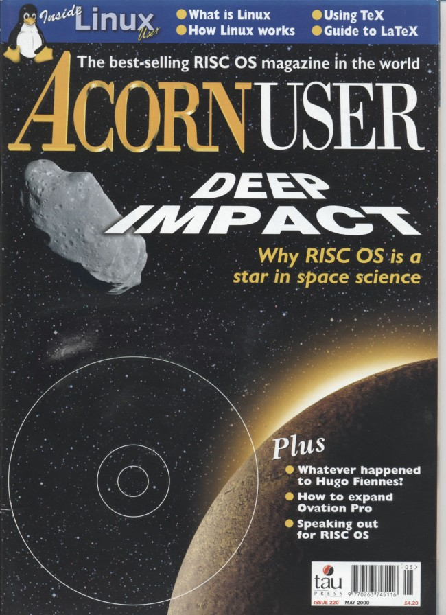 Scan of Document: Acorn User - May 2000
