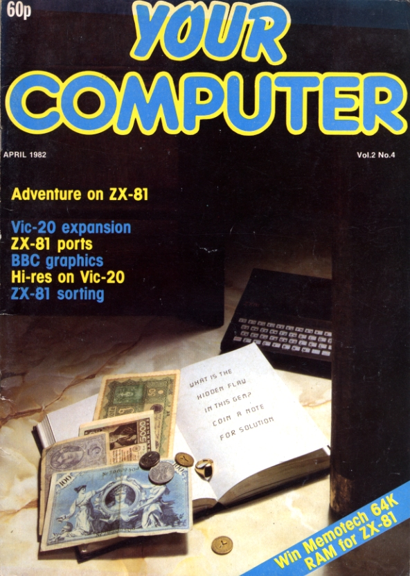 Scan of Document: Your Computer - April 1982