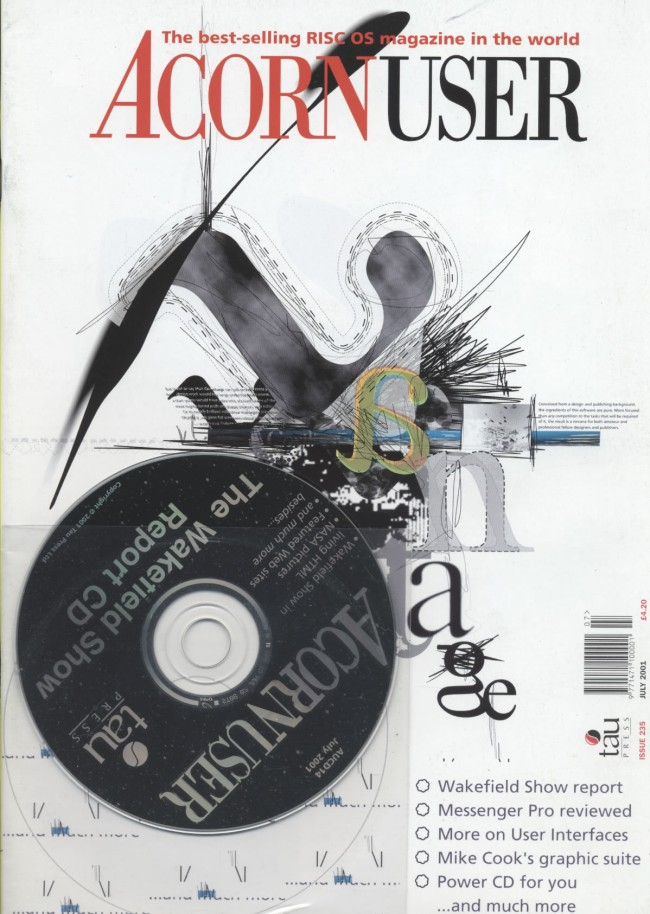 Scan of Document: Acorn User - July 2001