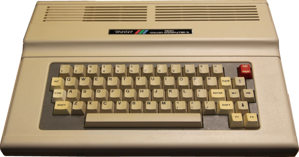 TRS-80 Tandy Color Computer 3 CoCo3 512K Memory