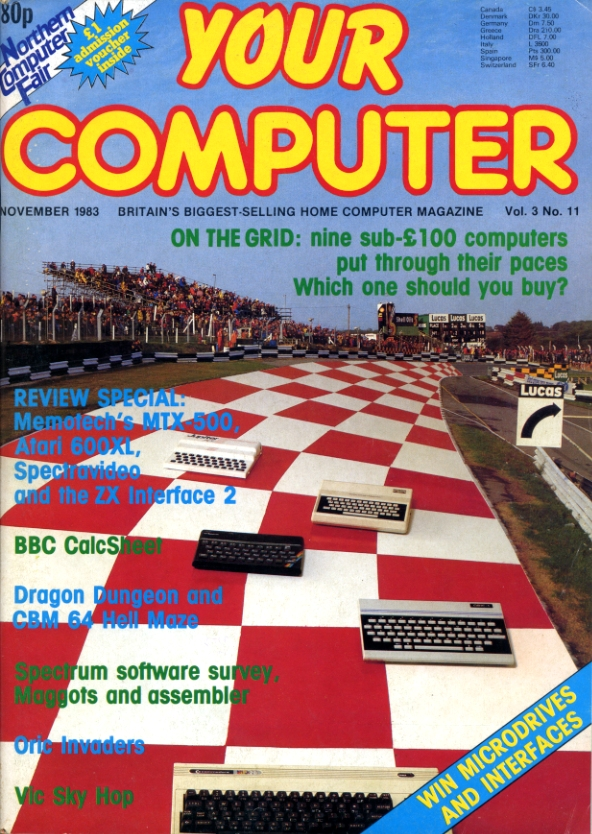 Scan of Document: Your Computer - November 1983