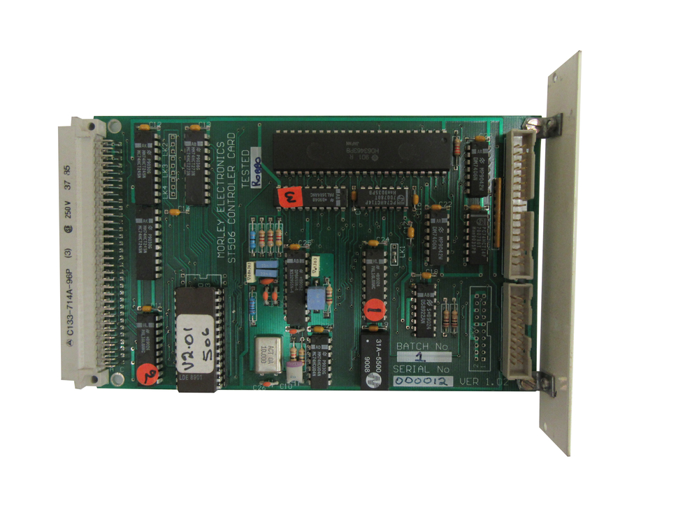 Scan of Document: Morley Electronics ST506 Controller Card