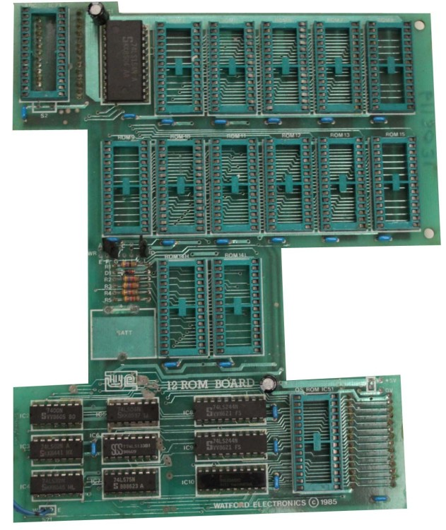 Scan of Document: Watford Electronics 12 ROM/RAM Board