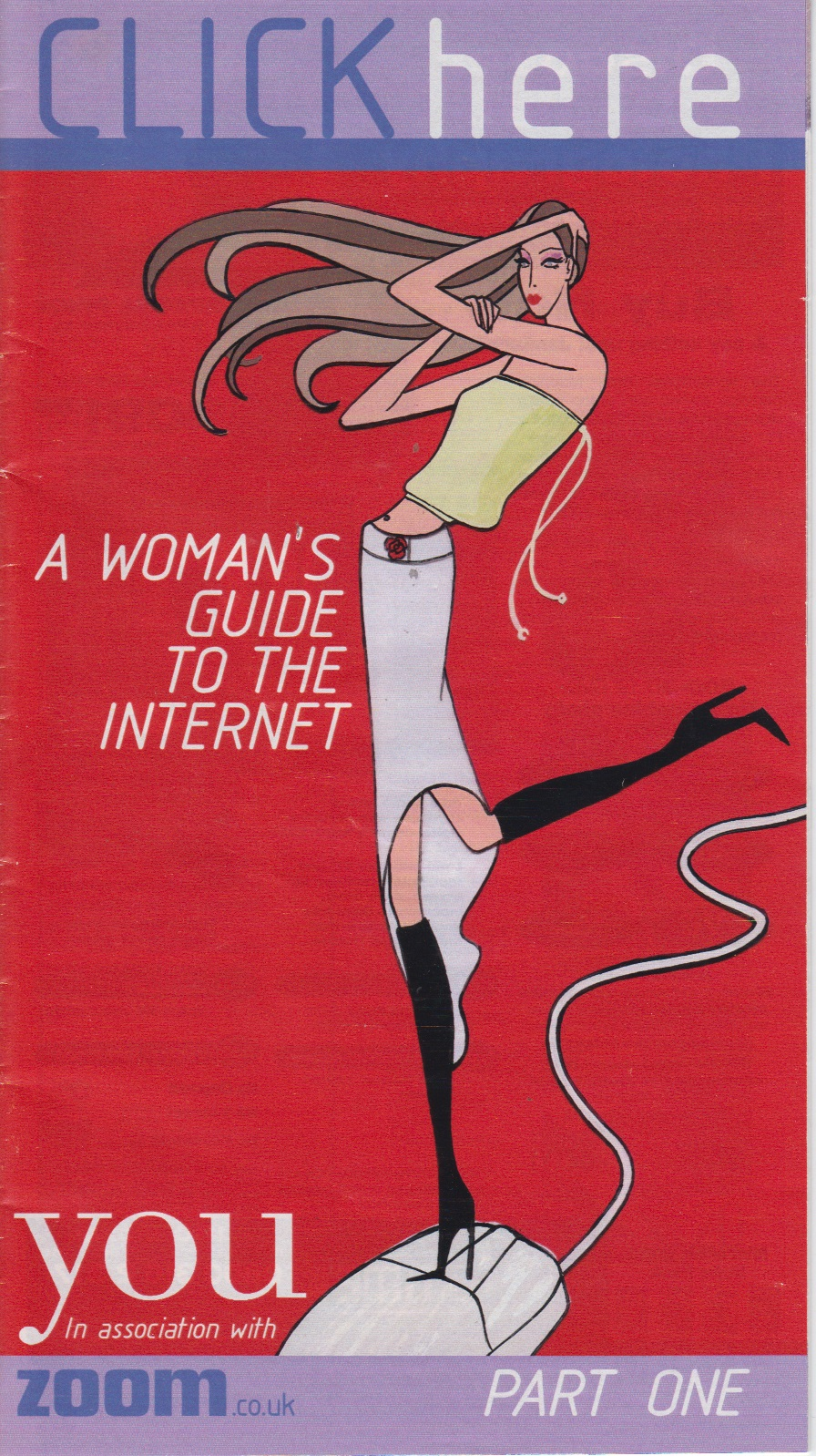 Scan of Document: A Woman's Guide To The Internet - Part One