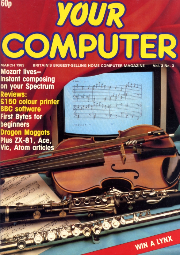 Scan of Document: Your Computer - March 1983