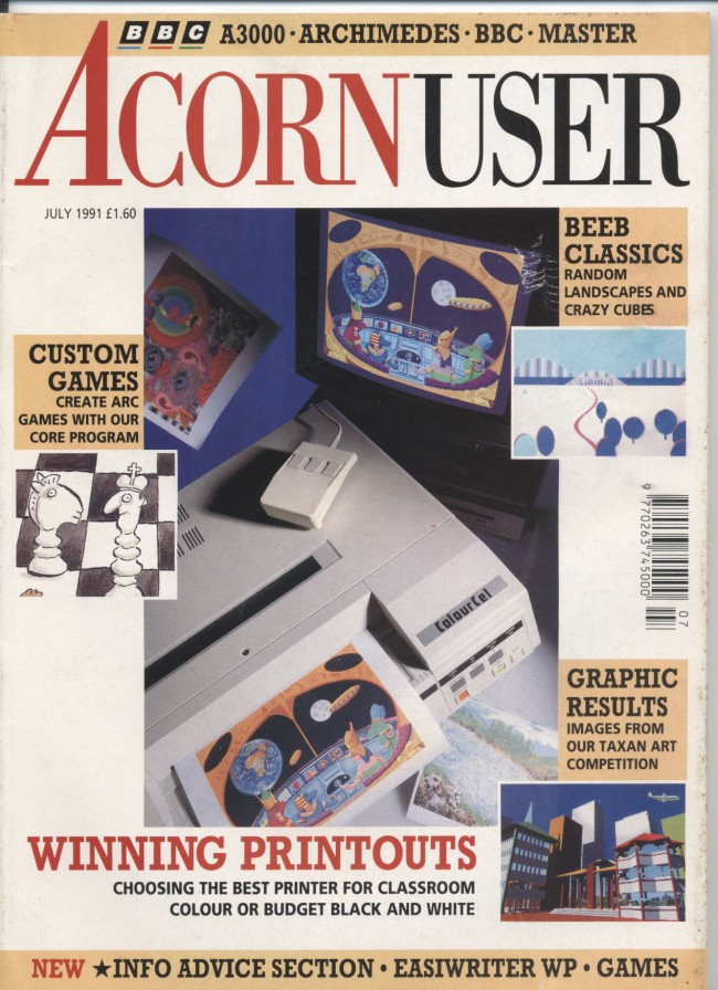Scan of Document: Acorn User - July 1991