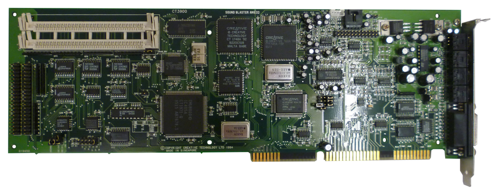Scan of Document: Sound Blaster AWE32