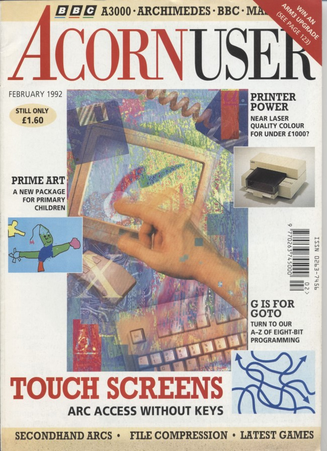 Scan of Document: Acorn User - February 1992